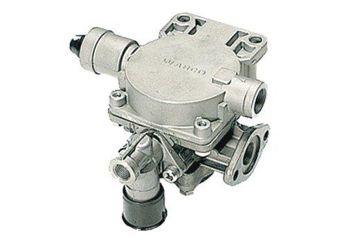 Wabco aanhangwagenremklep, M22x1,5, instelbare voorijling, met losknop
