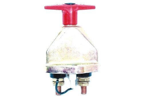 Hoofdstroomschakelaar 24V-250A/2500A (5 sec), 10 mm isolatiekragen