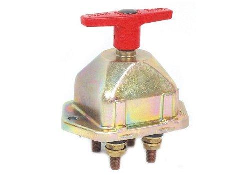 Hoofdstroomschakelaar 24V-250A/2500A (5 sec), 10 mm isolatiekragen, 2 polig