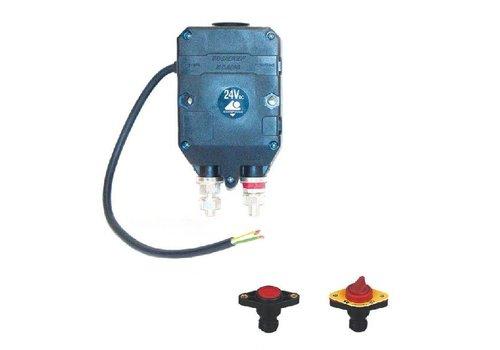 Hoofdstroomschakelaar 12/24V-300A/1500A (5 sec), druk- of draaiknop