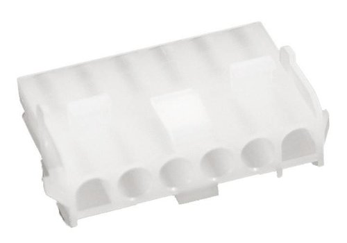 Burndy Multiconnector 6-polig, rondstekers 1x6