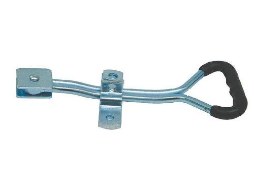 Opbouwsluiting, staal verzinkt, ergonomisch, voor buis ø 27 mm