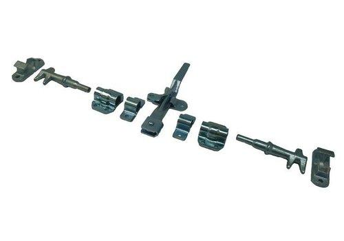 Opbouwsluiting, voor buis ø 27 mm
