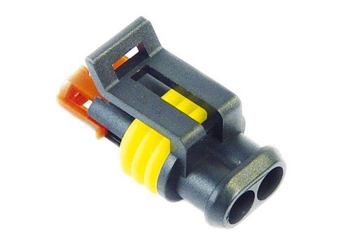 Burndy Superseal connector 2-polig