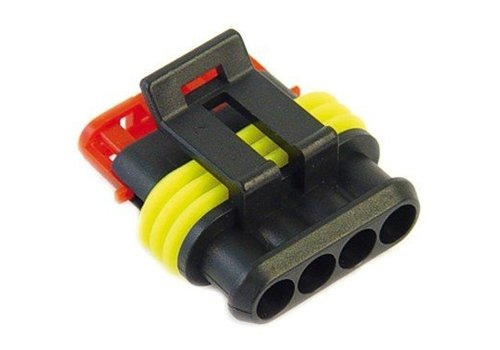 Burndy Superseal connector 4-polig