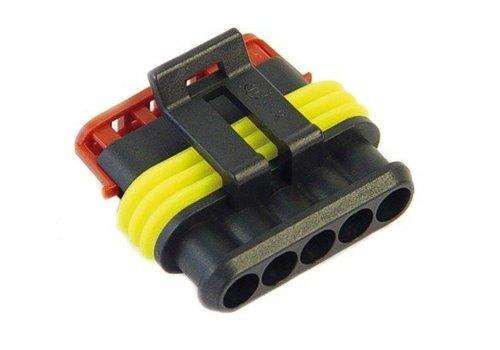 Burndy Superseal connector 5-polig