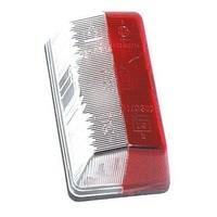 Nr. 213 Markeringslamp, rood/wit (OUTLET)