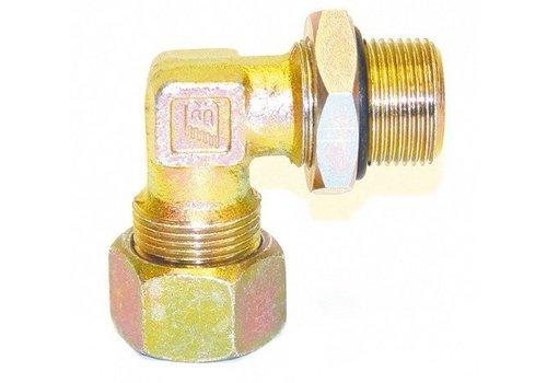 Bertocco Snijringkoppelingen inschroef haaks, 12 mm (OUTLET)