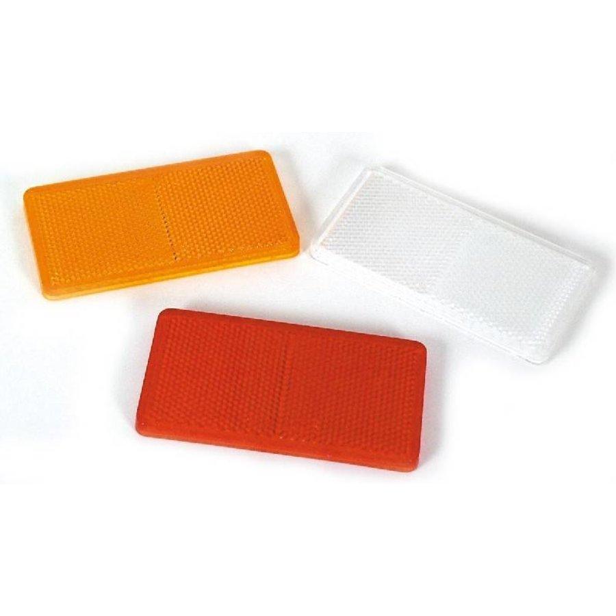 Plakreflector rood, 105 x 55 mm (OUTLET)-1