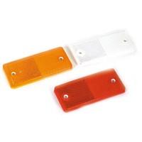 Plak/schroefreflector oranje (OUTLET)