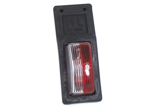 ML Markeringslamp, rood/wit (OUTLET)