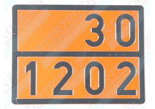 Intertruck Bord Gev. Stoffen 33/1268 (200)