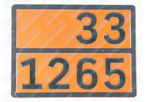 Intertruck Bord Gev. Stoffen 33/1265 (318)