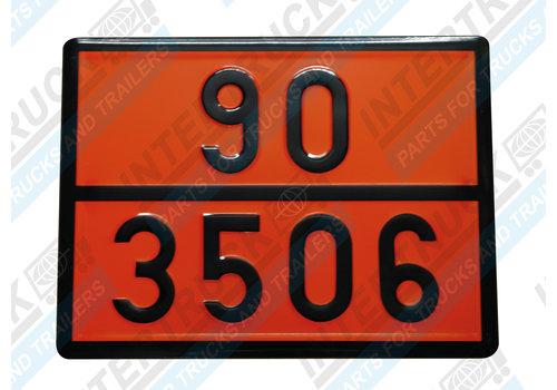 Intertruck Bord Gev. Stoffen 90/3506 (129)
