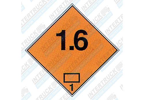 Intertruck Adr Etiket 1.6 (201)