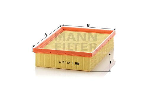 Mann-Filter * Uitl, Zie Mh C25101/1 * (101)