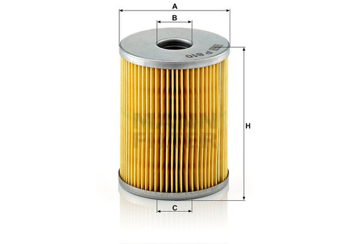 Mann-Filter Brandstoffilter (108)