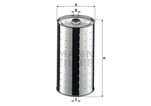 Mann-Filter Bypass Oliefilter (101)