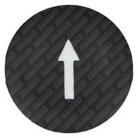 thumb-Symboolplaatje Pijl Zwart (202)-1