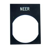Tekstplaatje Neer (201)