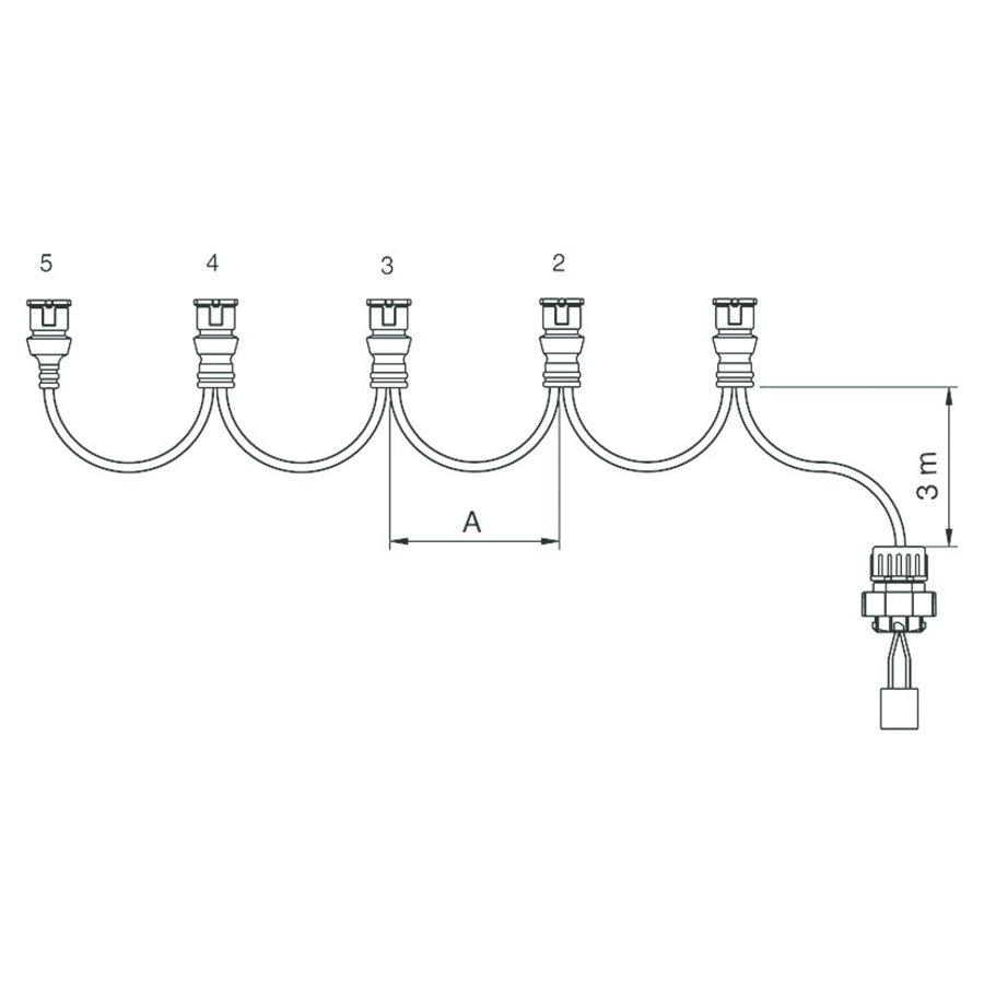 Kabel 3 Mtr/3,5 Mtr (200)-1