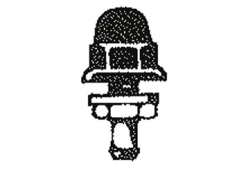 SWF Ruitensproeier zwart kunststof