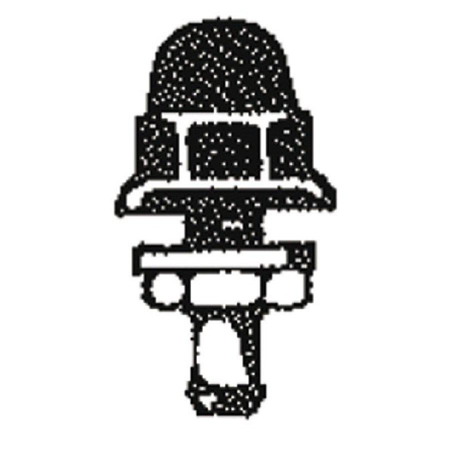 Ruitensproeier zwart kunststof-1