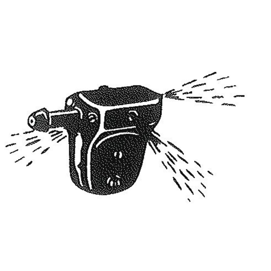 Ruitensproeier zwart kunststof-2