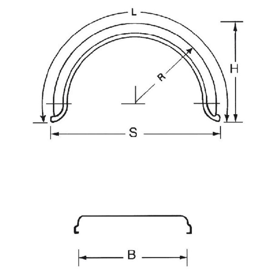 Kunststof spatschermen J-serie-2