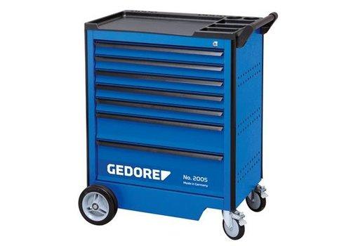 Gedore Gedore gereedschapwagen 2005 0511 + gereedschapset s 2005 au