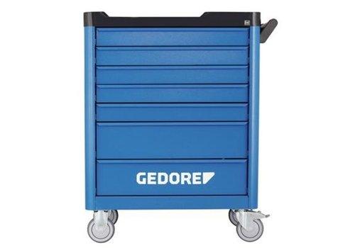 Gedore Gedore gereedschapwagen wsl l7 + gereedschapset ts 308, 308-