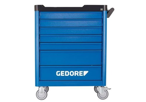 Gedore Gedore gereedschapwagen gtt b7 + gereedschapset s 177, 177-d