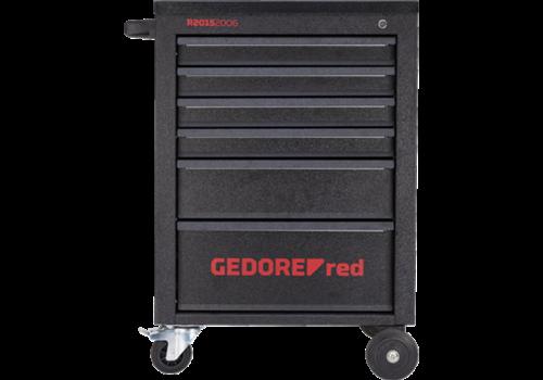 Gedore Gedore red gereedschapwagen mechanic, incl. set 166-dlg..r215