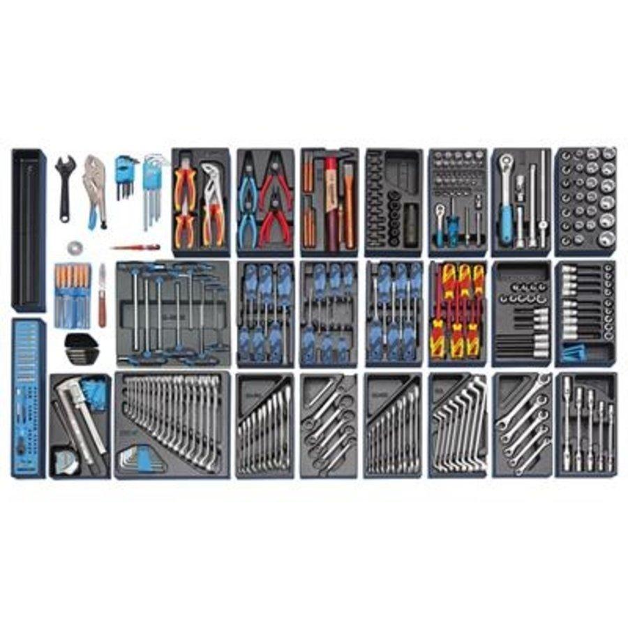 Gedore gereedschapset groot, in es-modules, 325-dlg..s1500es-1
