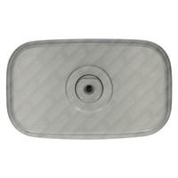 thumb-Achteruitkijkspiegel (grijs, 188 mm breed)-2