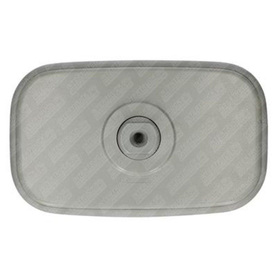 Achteruitkijkspiegel (grijs, 188 mm breed)-2