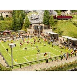 Noch Noch 66830 Fußballplatz mit Vereinsheim, micro-sound Tribüne und Flutlicht
