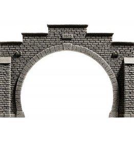 Noch Noch 58052 Tunnel-Portal, 2-gleisig, 21 x 14 cm