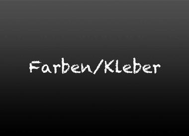 Farben / Kleber