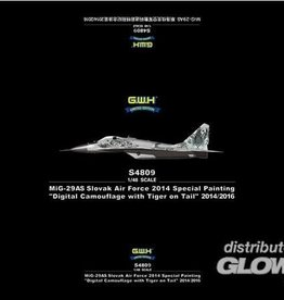 Great Wall Hobby GWH Mig-29AS Slovak Air Force Digital Camouflage 1:48