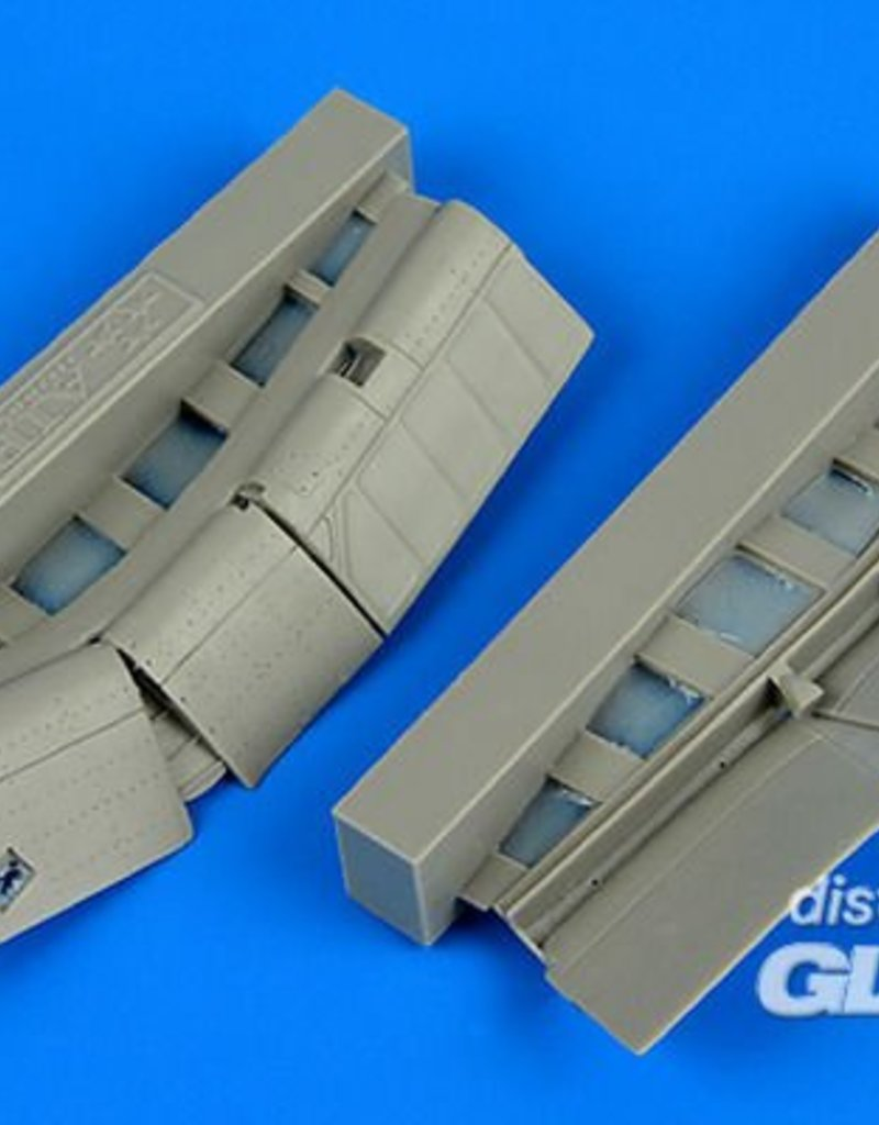 Aires Aires: F4U-1 Corsair flaps for Tamiya in 1:72 [7387303]