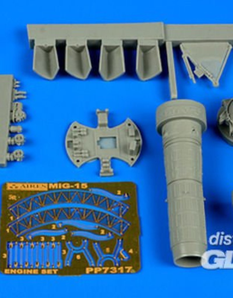 Aires Aires: MiG-15bis engine set for Eduard in 1:72 [7387317]