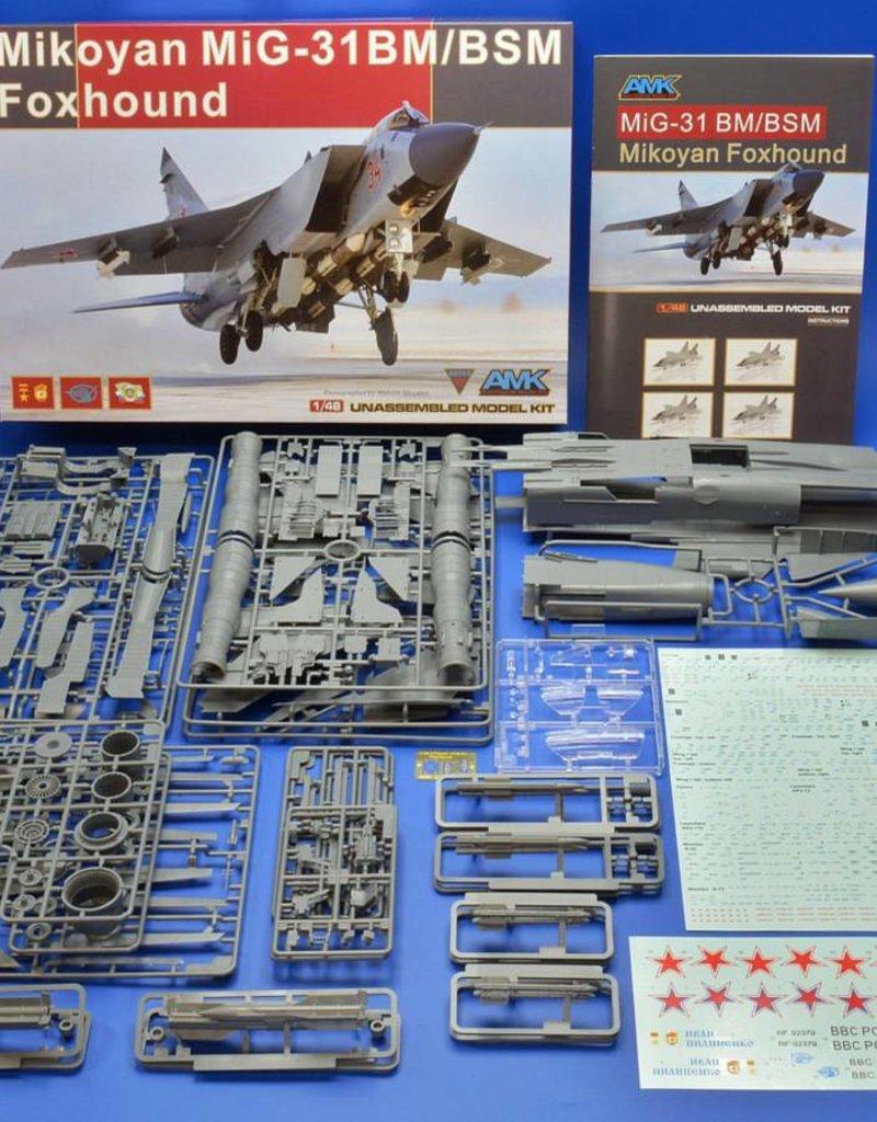 AMK AMK 88003 Mikoyan Mig-31 B/BS Foxhound 1:48