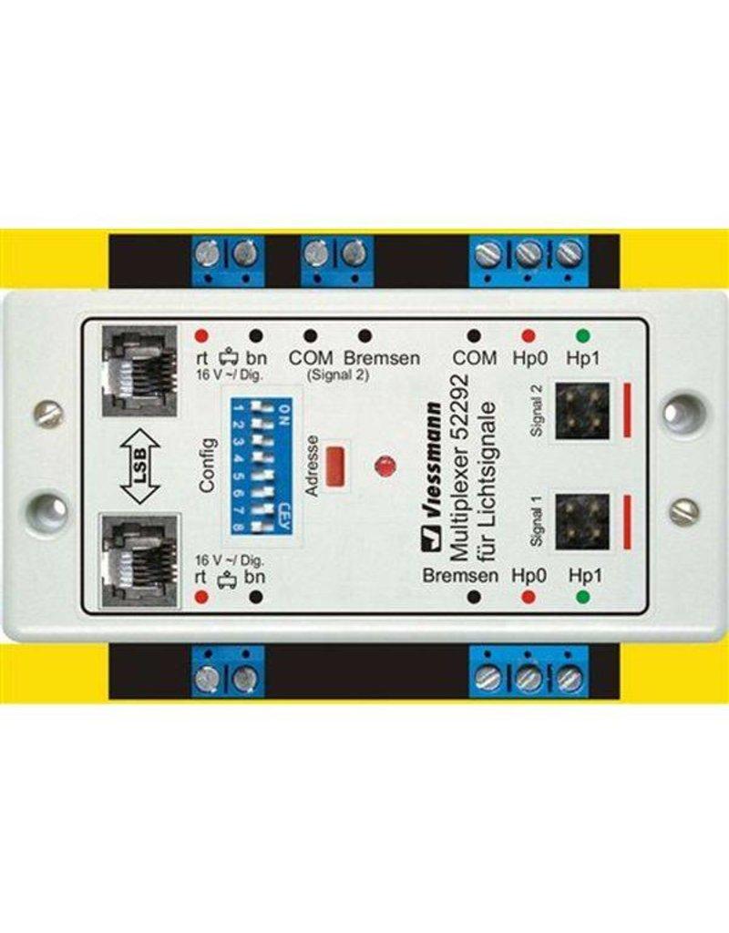 Viessmann 52292 Doppel-Multiplexer für 2 Lichtsignale mit Multiplex-Technologie