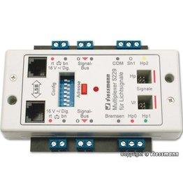 Viessmann 5229 Multiplexer für Lichtsignale mit Multiplex- Technologie