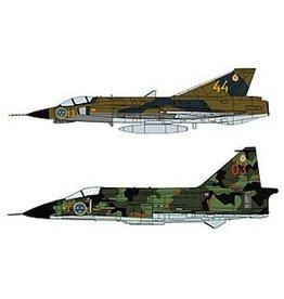 Hasegawa J35J Draken & SH37 Viggen `F13 Squadron`