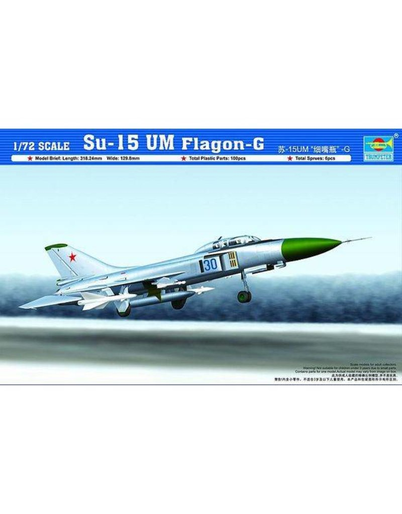 Trumpeter 1/72 1/72 Su 15 UM Flagon-G