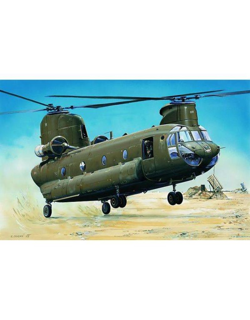 Trumpeter 1/72 1/72 CH47D Chinook