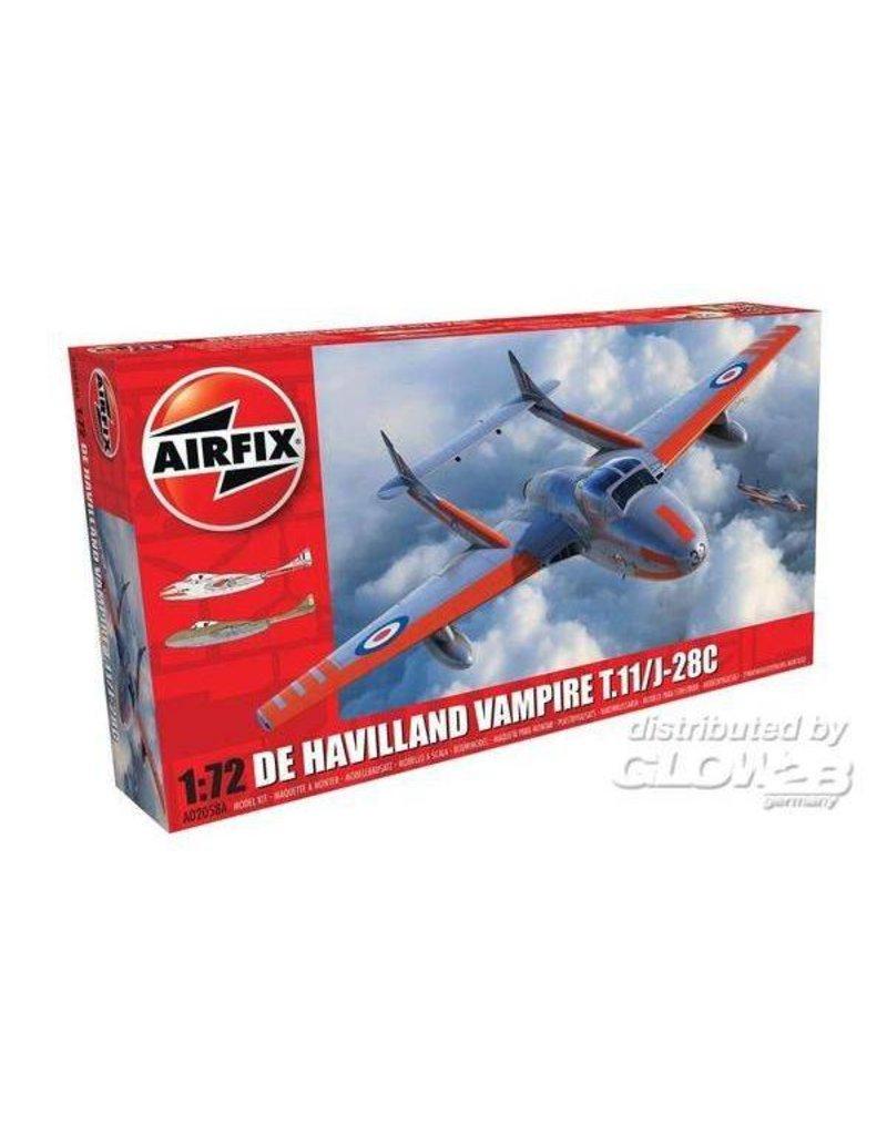 Airfix Airfix DE Havilland Vampire t.11/J-28 C