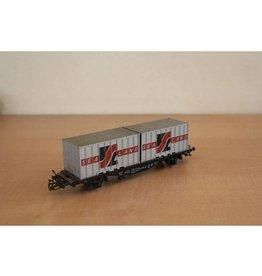 Märklin Märklin H0 4668 Sealand Containerwagen